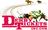 Derby Tickets, Inc - Black Saddle Logo