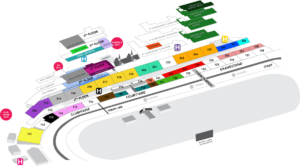 Derby Tickets, Inc - Churchill Downs Map
